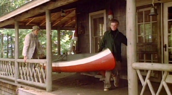 On Golden Pond (film), via Hooked on Houses