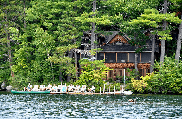 Cottage at Rockywold Deephaven Camps