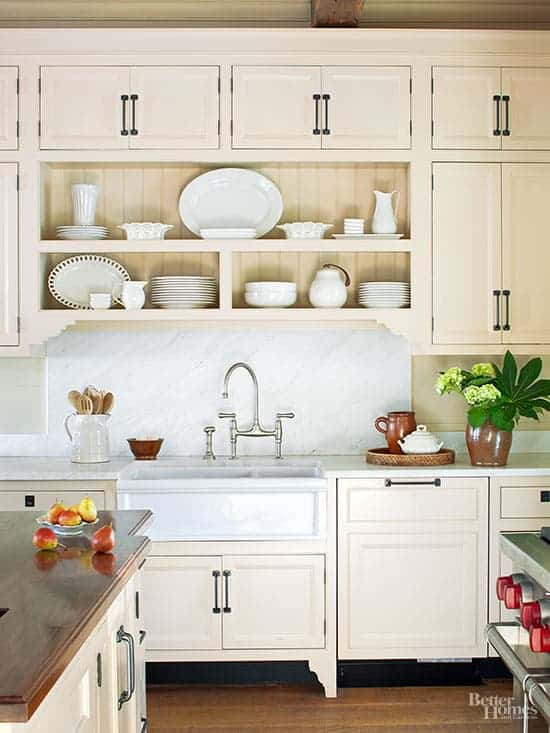 Cream And White Kitchens Happy Accident Or Stroke Of