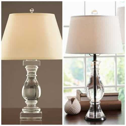 Pottery Barn Marston Lamp: The Secret Trick To DIY A French Wired Lamp » Home Glow Design
