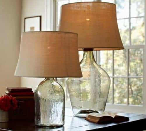 Clift Glass Table Lamp from Pottery Barn