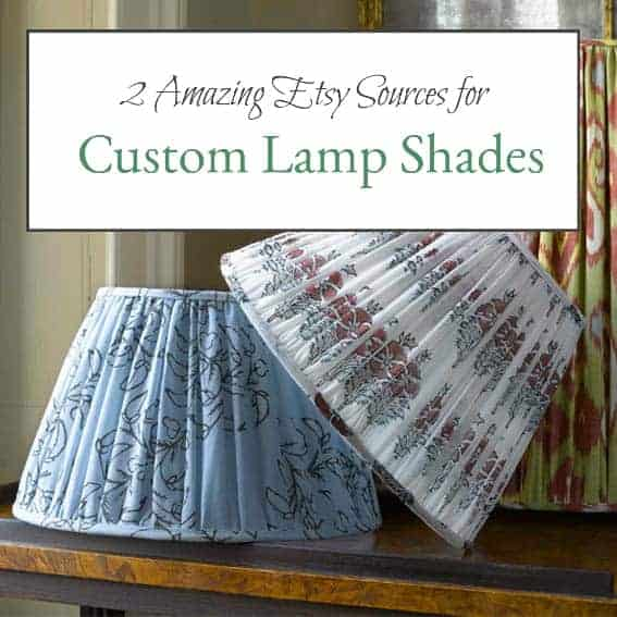 Custom couture 2 amazing etsy sources for heirloom bespoke lamp shades2 aloadofball Choice Image