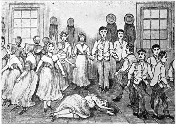 Shaker Worship and Dance