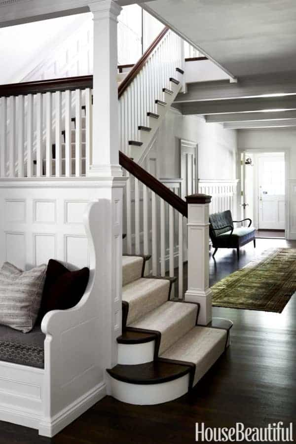 Foyer Staircase Quest : Nina farmer s historically sensitive style is hip save