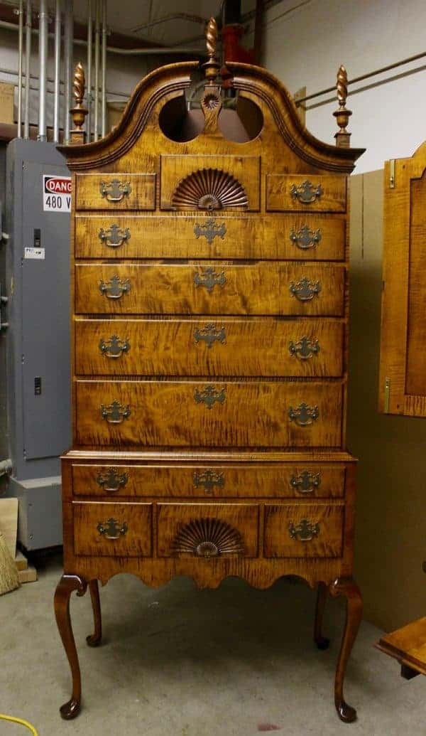 A glorious highboy.