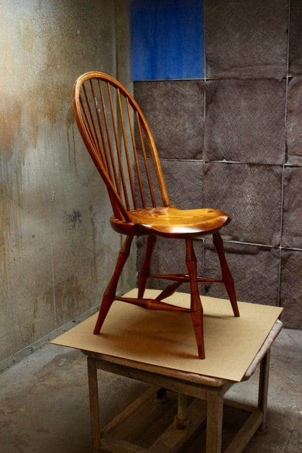 Where it all began -- a Windsor chair.