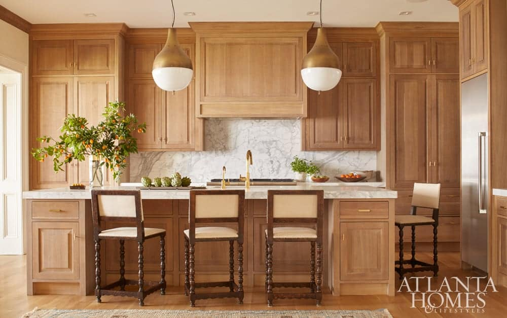 5 Fresh Looks For Natural Wood Kitchen Cabinets