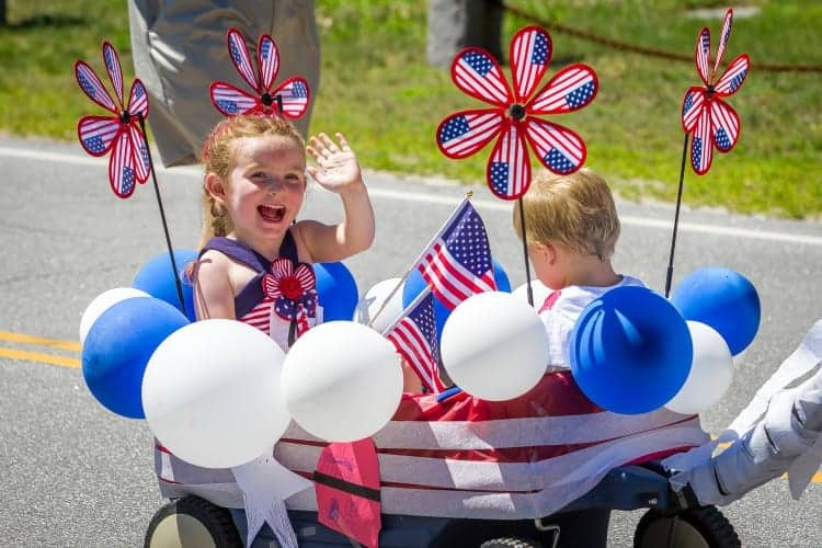 We have the most adorable 4th of July parade. Photo Concord Monitor.