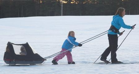 We start them young at the Blackwater Nordic Ski Club!