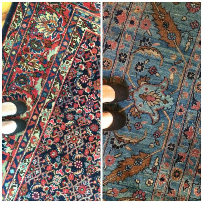 How to Avoid Oriental Rug Overkill Coordinating Heirloom Rugs