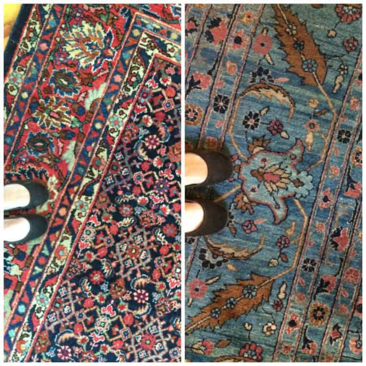How to Avoid Oriental Rug Overkill Coordinating Heirloom Rugs