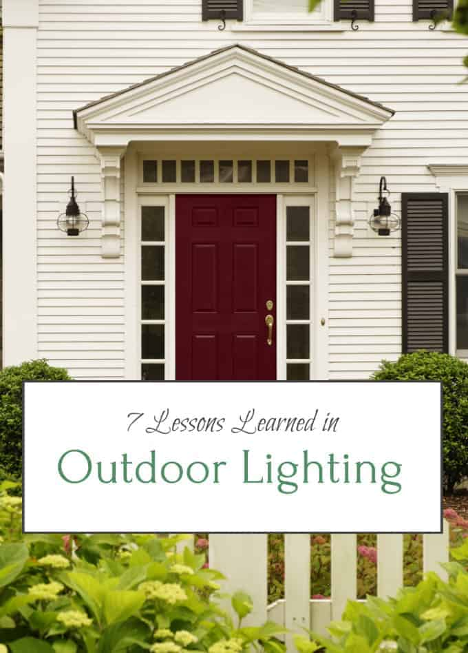 Outdoor Lighting Lessons Learned