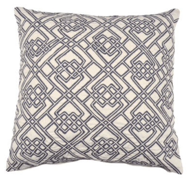 Elements by Erin Gates, Dori and Tape Throw Pillow