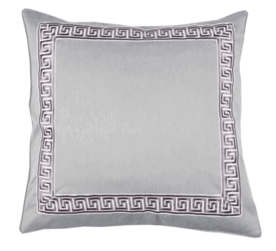 Elements by Erin Gates, Greek Key Pillow