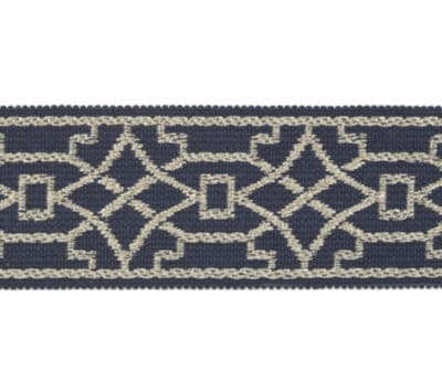 "2"" Navy Tape Trim"