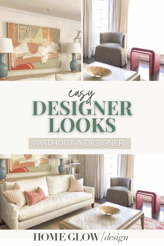 easy designer looks pin graphic