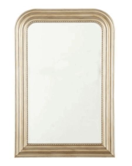 silver louis mirror