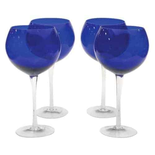 cobalt wine glasses target dining room