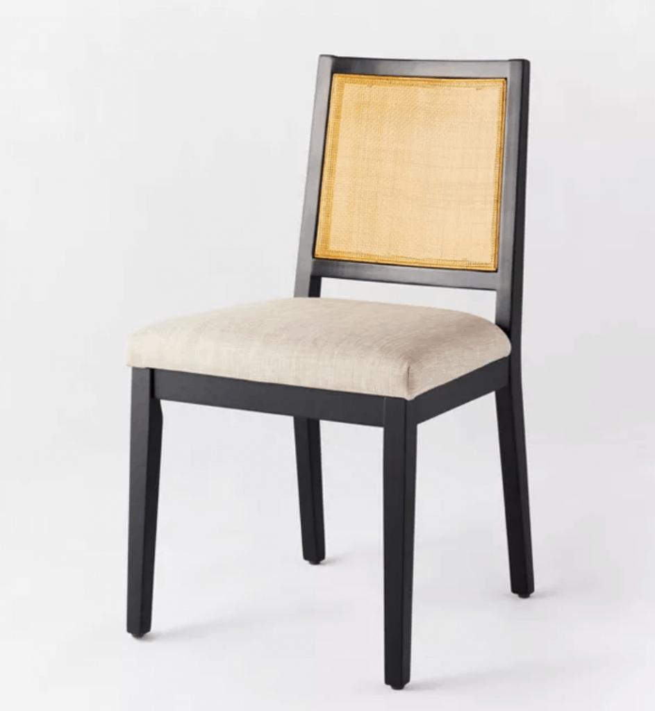 Oak Park Cane Dining Chair Beige