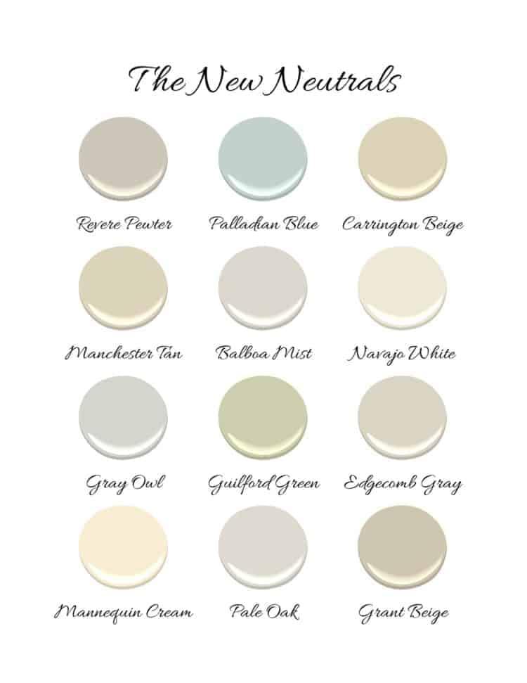 new neutral paint colors
