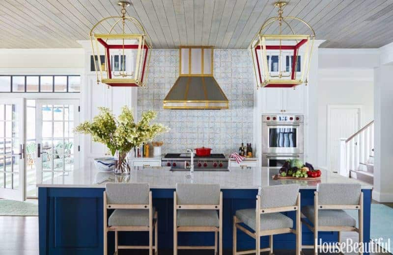 colorful kitchen island pendants lanterns