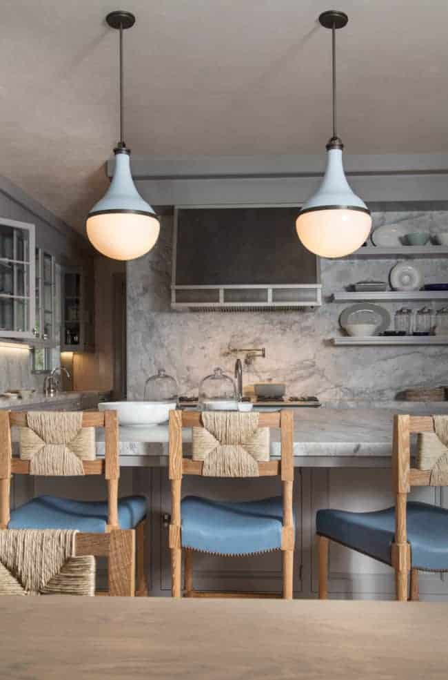 colorful kitchen island pendants