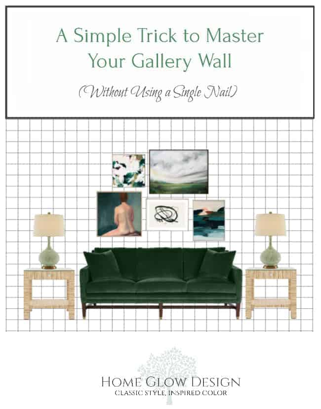 A Simple Trick to Master Your Gallery Wall