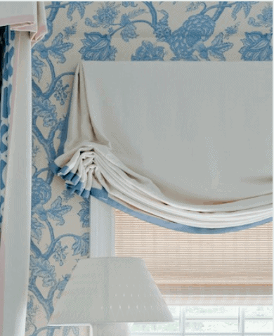 The Resurgence of Feminine Roman Shades Home Glow Design