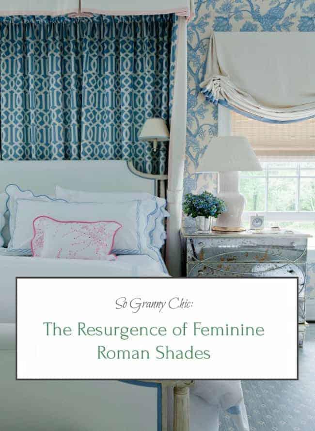 The Resurgence of Feminine Roman Shades
