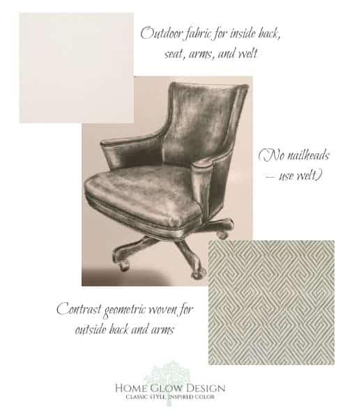 Custom Desk Chair Home Glow Design