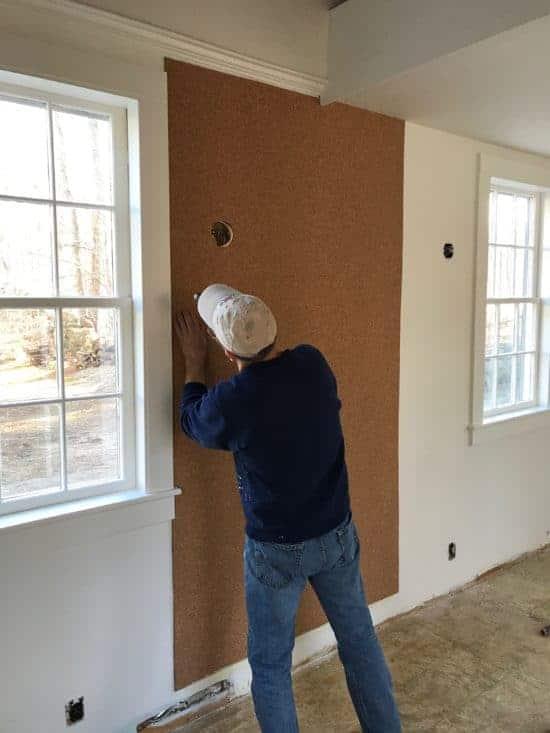 Home Glow Design DIY Cork Wall