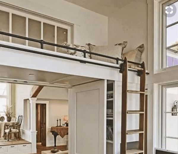 loft railing iron bronze