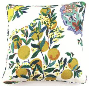 schumacher citrus garden pillow
