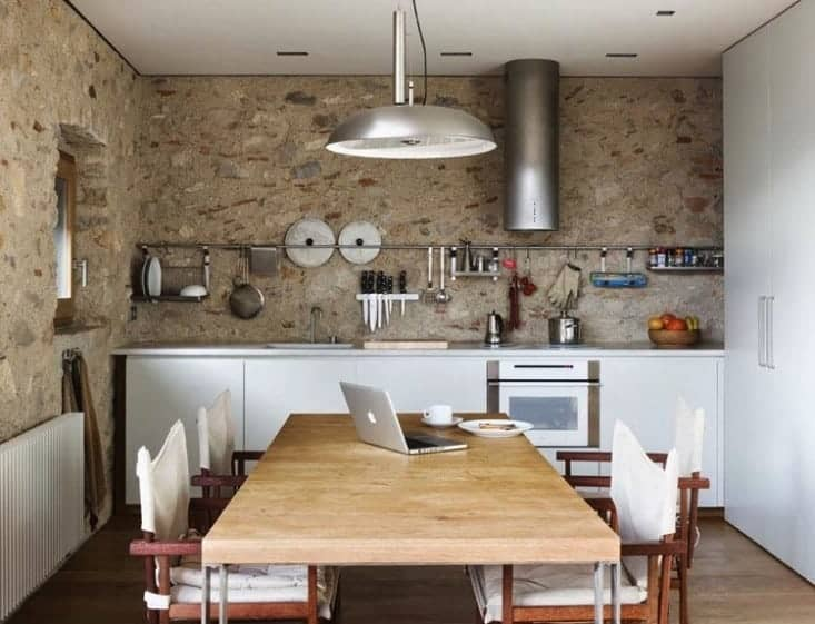 Not All Kitchens Have Islands -- The Resurgence of the Center Table