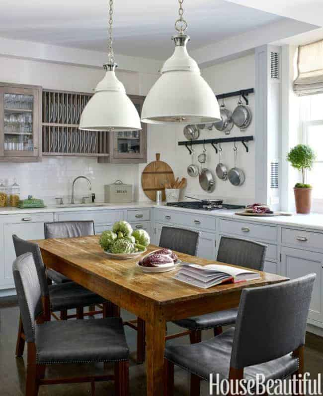 Not All Kitchens Have Islands The Resurgence Of Center Tables