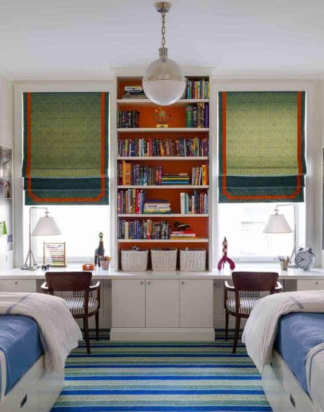 double sleep study space