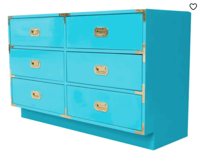 5 Awesome Campaign Furniture Sources on Etsy