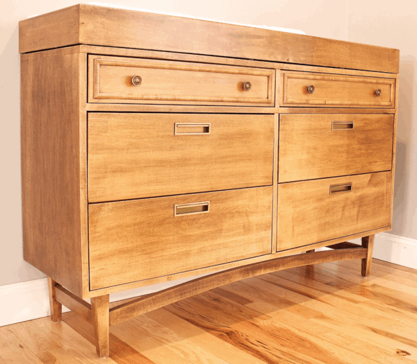 5 Awesome Campaign Furniture Sources on Etsy dresser nightstand desk