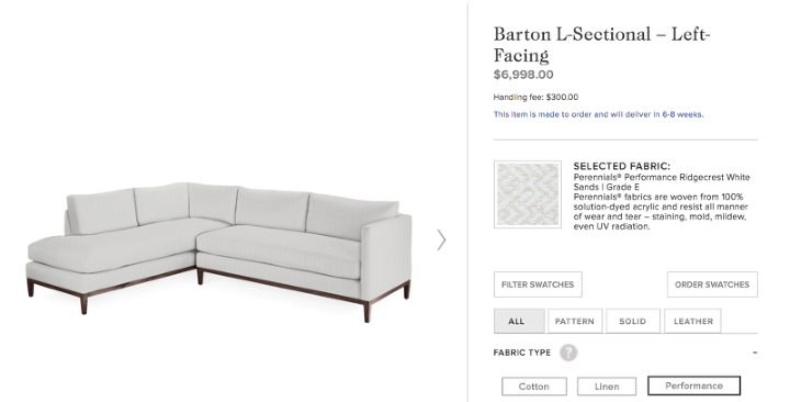 Amazing Deals on Quality Custom Upholstery (with Crypton!)