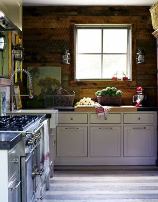 Design Double-Take: A Rustic/Refined/Reclaimed Kitchen Revival