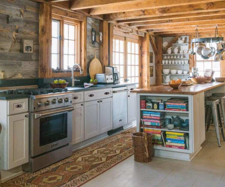Design Double Take A Rustic Reclaimed Refined Kitchen Revival
