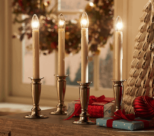 The Best Christmas Window Candles Ever