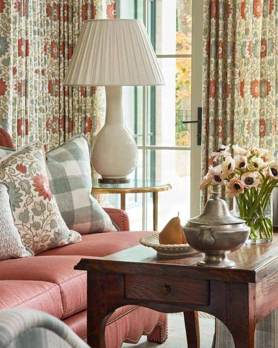 warming color trends in home design