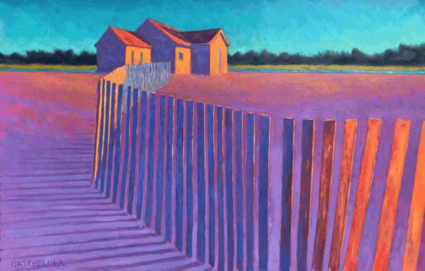 New EnglaPastoral Glow: Peter Batchelder, New England Artist & Master of Light nd Artist & Master of Light, Peter Batchelder