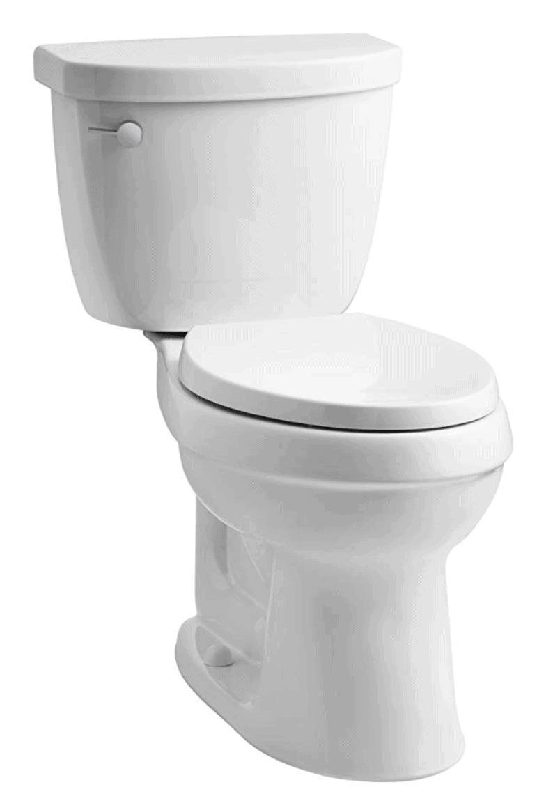 fresh classic kohler vintage toilet