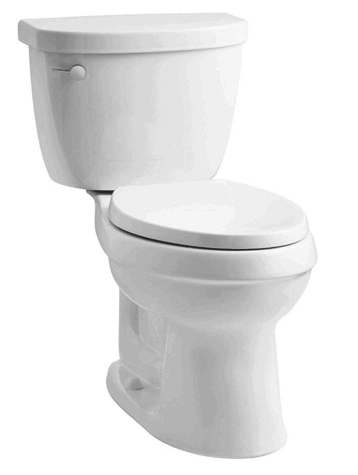 space saving vintage toilet