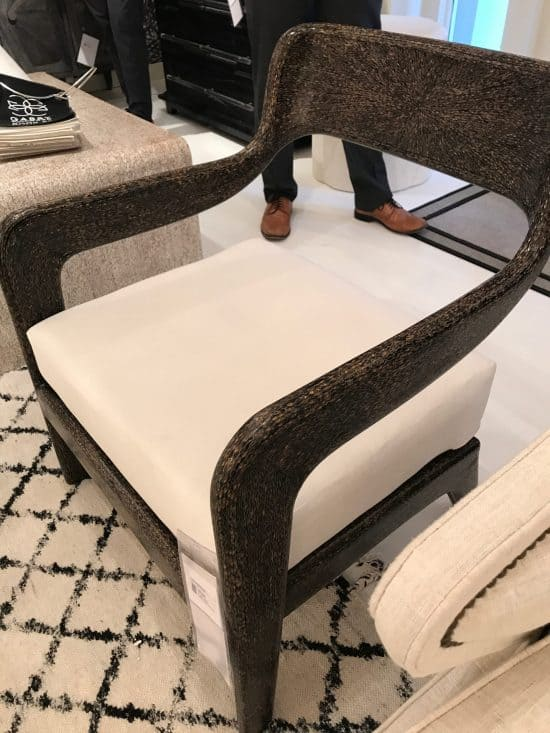 7 Plush Trends from High Point for All Styles, People, and Pets, exposed frame chairs