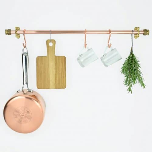 An Awesome Source for Custom Pot Racks copper