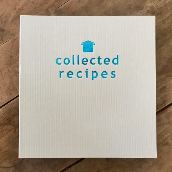 How I Organized All My Loose Recipes in One Binder