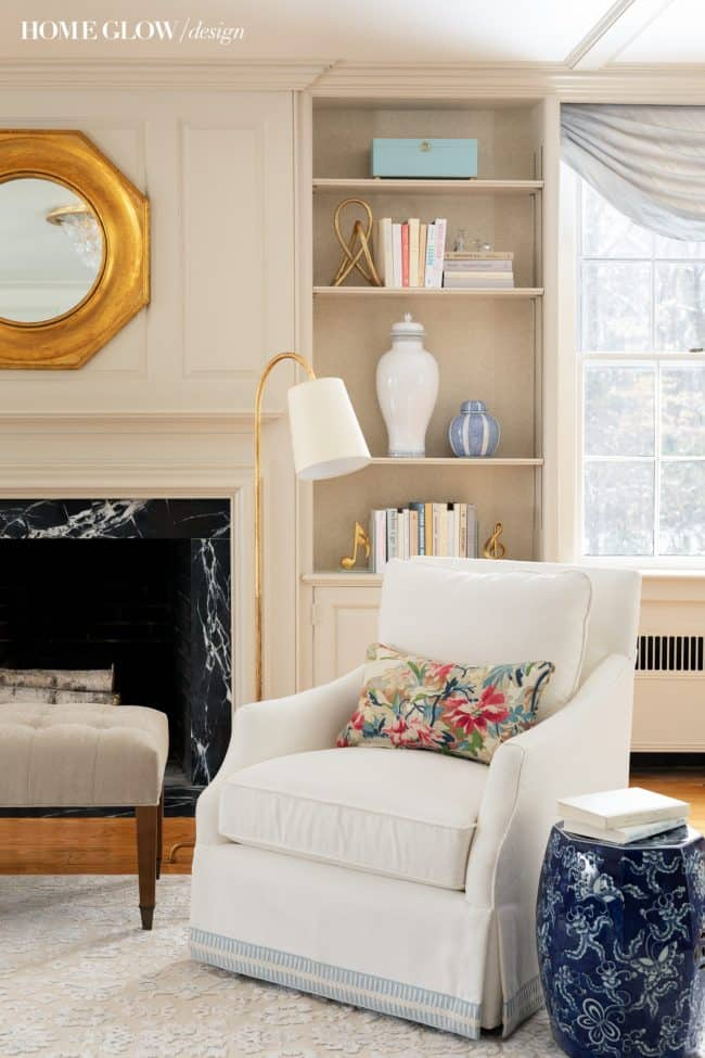A Fresh Traditional Living Room: Project Concord Shingle Style REVEAL!